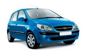 аренда авто в черногории - Hyundai Getz